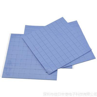 深圳厂家高导热硅胶片 阻燃硅胶片 电源cpu散热硅胶垫片1*10*10