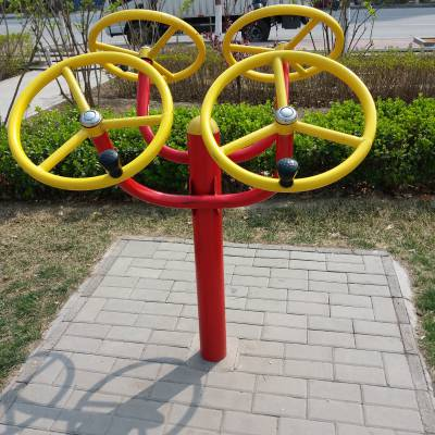 供应小区/户外健身器材,太极轮/两联漫步机/肋木/臂力训练器等健身路径 河北利伟体育