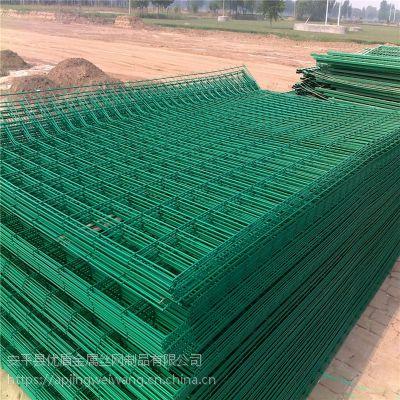 河北实体厂家公路护栏网 河边绿色护栏网 经济防护网 隔离栏