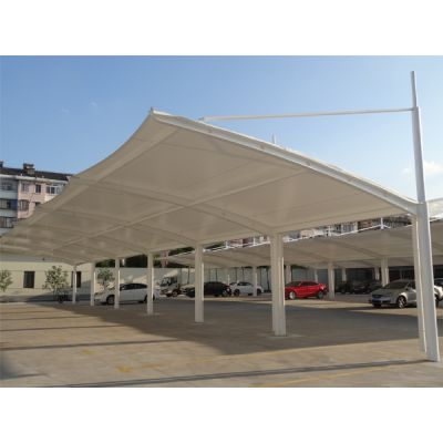 充电桩停车棚供应赤峰膜结构车棚 赤峰停车棚厂家