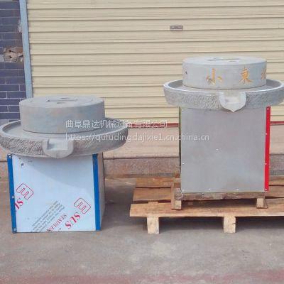 优质豆浆石磨机潍坊新款小型豆浆石磨原生态豆浆豆腐电动石磨