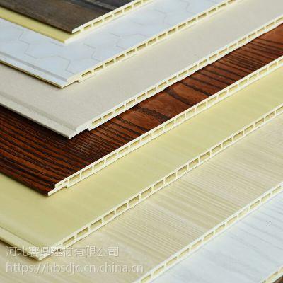 河北竹木纤维集成墙板木塑板木纹1808