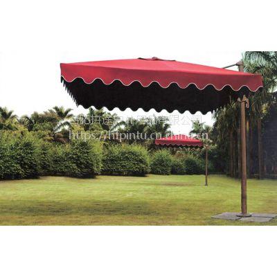 合肥户外庭院伞厂家,侧边伞,罗马伞,单边伞定做