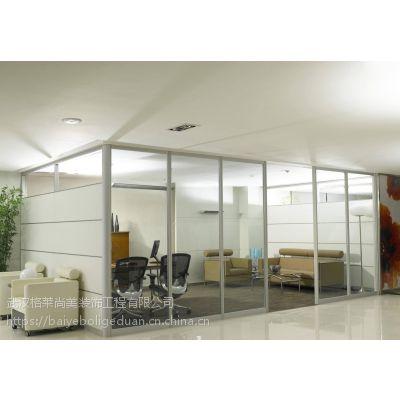 单层玻璃隔断,移动隔断墙