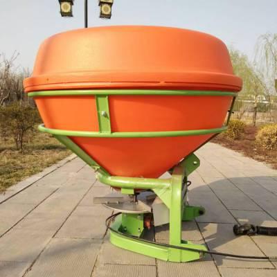 四轮拖拉机悬挂式撒肥机 后置式加厚耐腐蚀撒肥机 颗粒化肥专用抛洒机