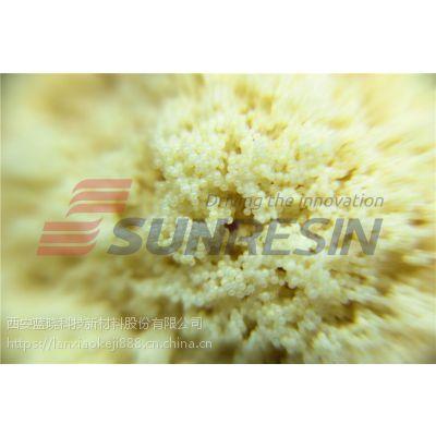 西安蓝晓科技 大孔吸附树脂ab8用于提取黄酮类物质分离纯化厂家 ISO9001:2008
