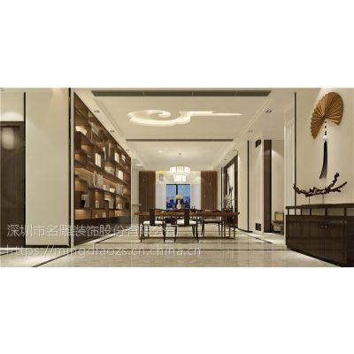 广州市雅居乐剑桥郡装修案例_三居室新中式风格设计