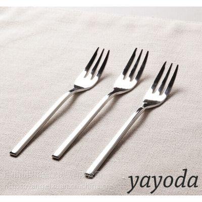 德国Yayoda 不锈钢果叉 水果叉 不锈钢蜗牛叉 蛋糕叉子 月饼叉