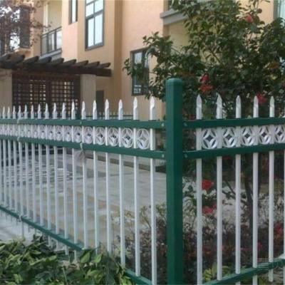 河南濮阳仁久护栏厂家锌钢护栏学校围栏厂区小区护栏围墙围栏防盗镀锌护栏防护栏杆