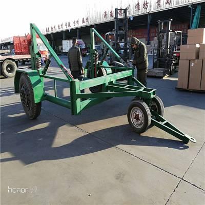 电缆放线车5吨电缆拖车电缆运输车炮车
