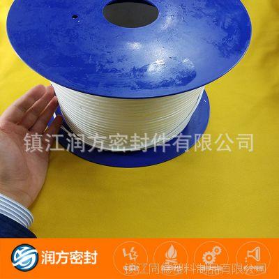 耐高温四氟弹性带 PTFE带 厂家直销膨体四氟密封带薄利多销