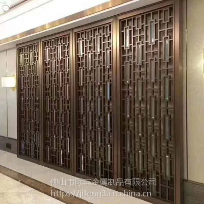 不锈钢玄关装饰屏风,不锈钢订制花格厂家