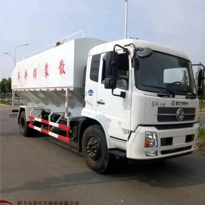 东风天龙40方饲料运输车图片