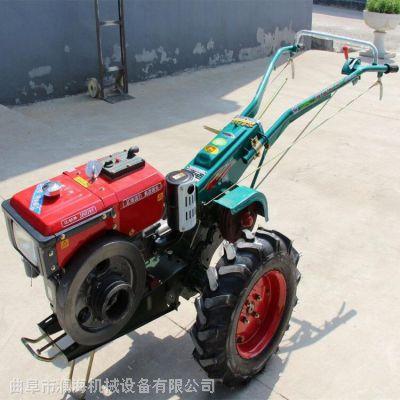 大功率手扶拖拉机 硬土地耕地旋耕松土机 短途运输手扶拖拉机