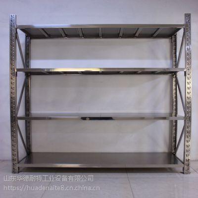 供应东营不锈钢货架 不锈钢架子 食品行业架子 304 承重500kg 定制