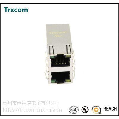 2X1口 带灯带弹 10/100/1000兆 RJ45网络接口