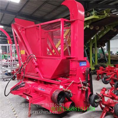 切碎秸秆回收机 玉米秸秆收割机产量高 青储机圣泰新款供应