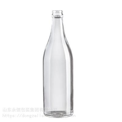 山东白酒瓶生产厂家供应350ml白酒酒瓶 果酱玻璃罐 四方玻璃瓶 彩色喷涂瓶