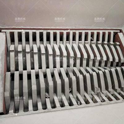 大型双轴撕碎机 支持定制 废旧家电撕碎机 实体厂家供货