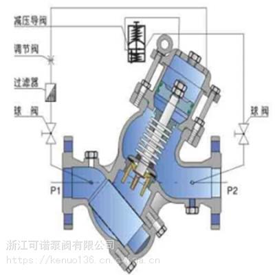 温州BFDZ70液力自动控制阀不锈钢材质