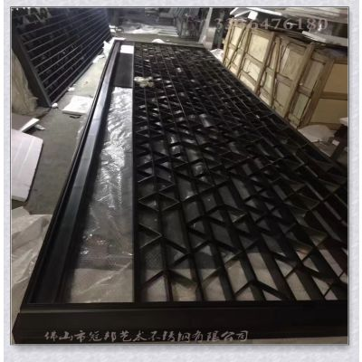 不锈钢花格 KTV屏风隔墙断背景镂空 304不锈钢屏风冠邦定做