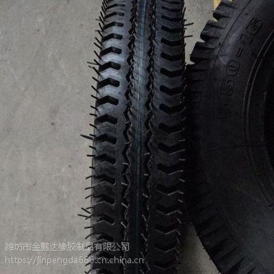 三轮农用车550-16轮胎 曲混花纹拖拉机5.50-16前轮胎 优惠促销