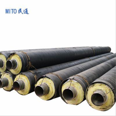 发电厂管道输送蒸汽 钢套钢直埋保温管 供热直埋保温管厂家