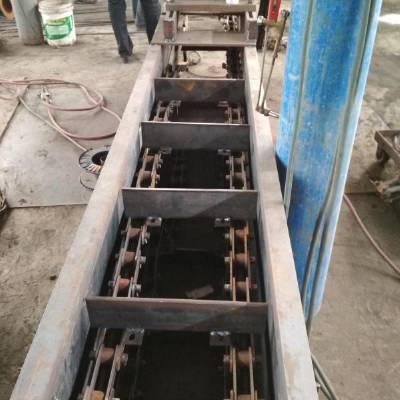 车间废料刮板输送机 mz220埋刮板送料机