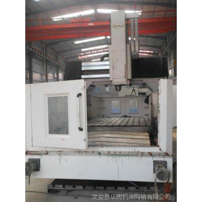 二手3米龙门铣 台湾斜鸿大型CNC-3210数控龙门加工中心 数控铣床
