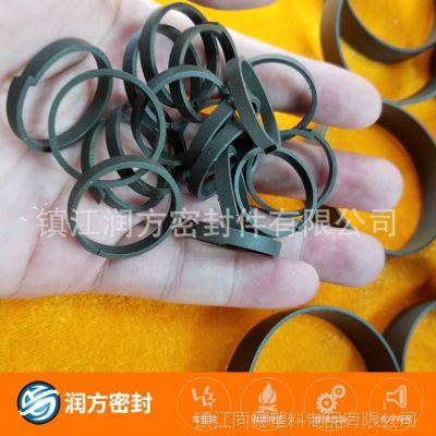 填充耐磨性能比较好的铜粉:聚四氟乙烯PTFE耐磨圈 密封环