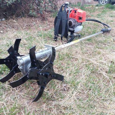 山坡上果树下杂草用除草机 润丰 小型轻便锄草割草机