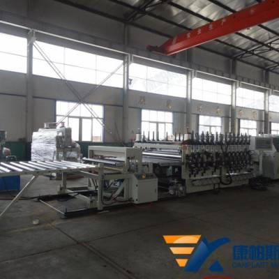 康帕斯机械SJ120/150PP, PE, ABS, PVC厚板生产线塑料厚板挤出设备