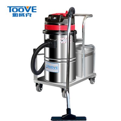 拓威克电瓶式工业吸尘器158DC︱工厂车间无线充电式大功率吸尘器