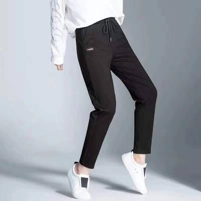 河南真正一线品牌大码女裤批发 娣娜姿 19冬 广州大码女装批发