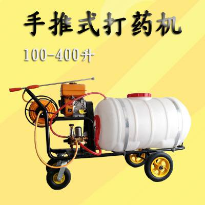科圣高作物打药机 大棚专用高压喷雾机 轮小推车汽油喷雾器