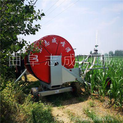 小型50-180型自动回管灌溉机 大面积农田喷灌机 玉米小麦高效省人工浇地机