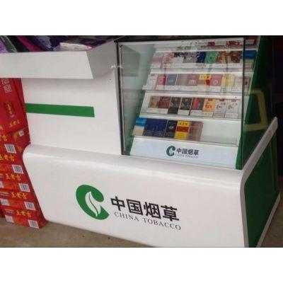 生产厂家供应木质烤漆陈列超市烟酒柜台