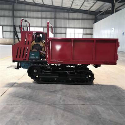 履带运输车厂家 履带手扶小推车 多功能运输车型号