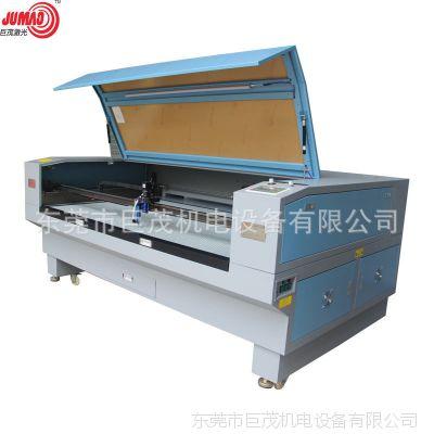 全自动送料大批量激光JM-1610T 毛绒玩具摄像定位激光切割机
