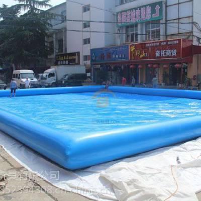 河北邯郸充气游泳池乐园 订制大型充气水池