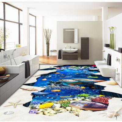 海洋海景微晶石3D地砖多少钱一平方米