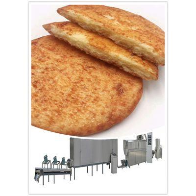 粗粮酱油饼膨化机 散装网红美食酱油饼生产线