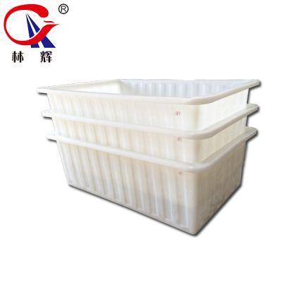 江苏林辉K-1200方箱 牛筋料养殖水箱PE腌制发酵储水箱周转方箱厂家直供