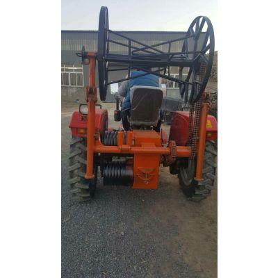 四轮拖拉机绞磨 上海500拖拉机牵引机 二手拖拉机绞磨 满发聚