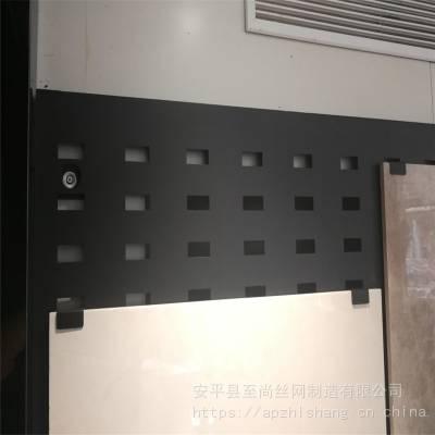 地砖网孔板展具 地砖展板架子 冲孔板展示架厂家