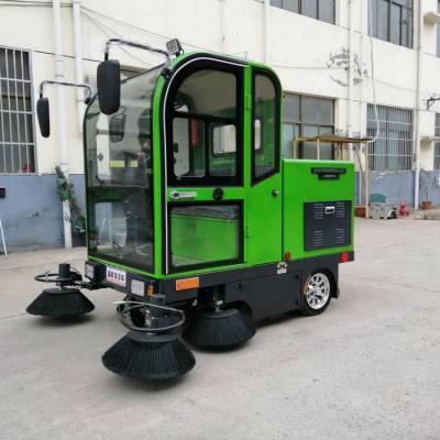 热销电动清扫车 电动扫地机 鸿哲 电动四轮扫地车