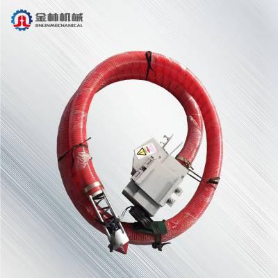 厂家直销小型吸粮机 软管式粮食垂直提升机 无轴抽粮机质量保障