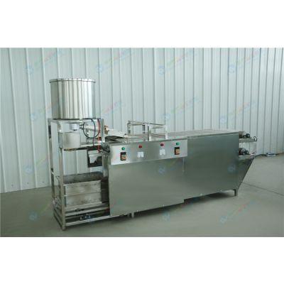 聊城豆腐皮机生产厂家 豆腐皮机商用现场教学