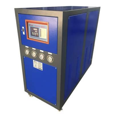 济南工业冷水机-15P工业冷水机价格-华易冷水机小型