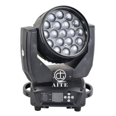 艾特 19颗15W四合一 LED摇头染色灯 电脑摇头染色光束灯二合一